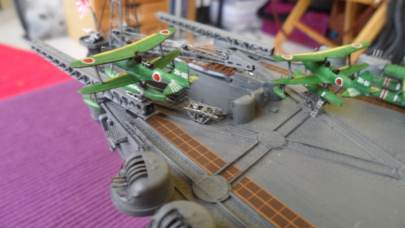 Cuirassé Yamato Tamiya 1/350 Yamato11