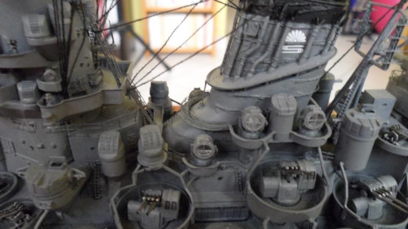 Cuirassé Yamato Tamiya 1/350 Yamato12