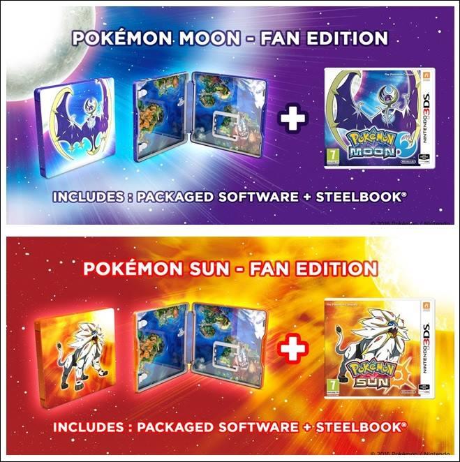 [Sun&Moon] Pré-commandes de Pokémon Soleil et Lune et cadeaux de réservation FR 13590410