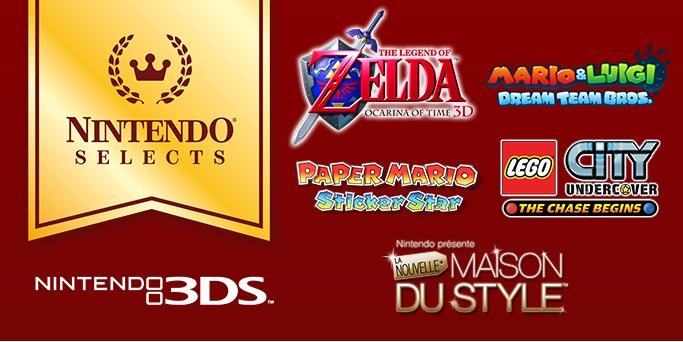[Jeux vidéo] Cinq classiques Nintendo 3DS sont désormais à 19,99 € chacun sur le Nintendo eShop Ninten11