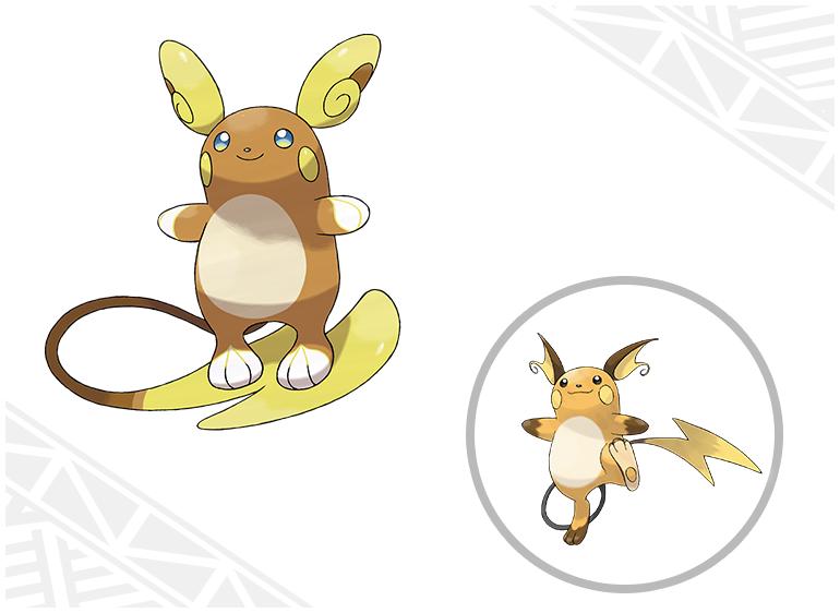 [Sun&Moon] (11-08-2016) Nouveaux Pokémon dévoilés + La team Skull Raichu11