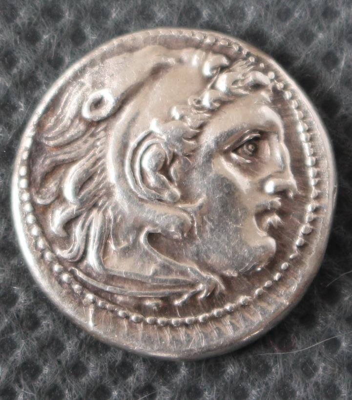 """petite grecque à ID ! ... Drachme """"alexandrine"""" ionienne pour Magnésie du Méandre 0761_r10"""