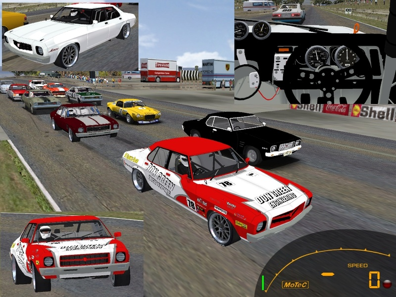 New GTR2 cars for download (Holden Monaro and others) Hq_hol10