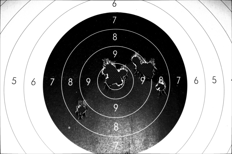 .491round ball and .015 patches Rifle10