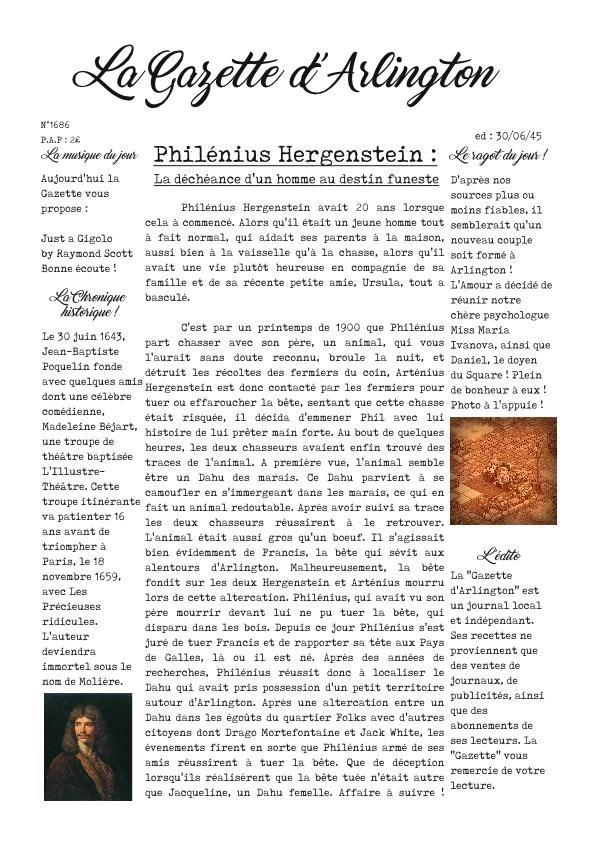 [UNE] Edition de la Gazette - 30/06/1945 Une_ga11