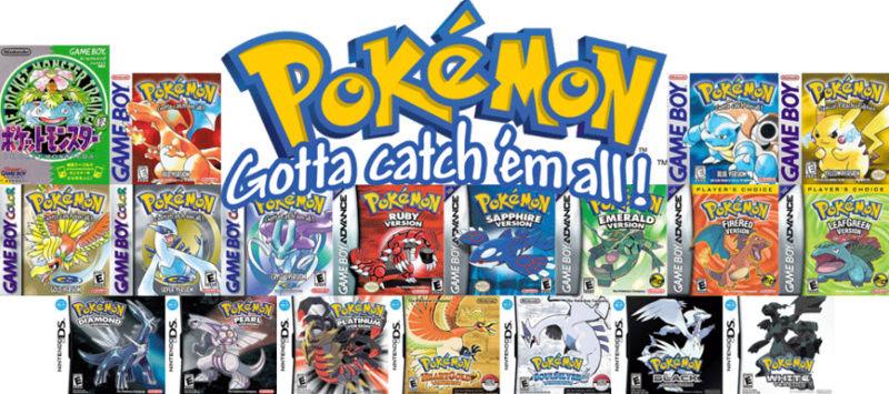 Les meilleurs jeux pokemon pour vous. Les-1010