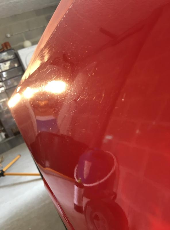 Ma belle rouge (detailing extrême) 😁 Image24