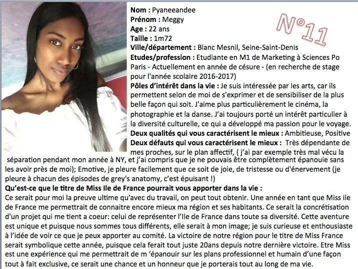 MISS ILE-DE-FRANCE 2016 - Meggy PYANEEANDEE 13512011