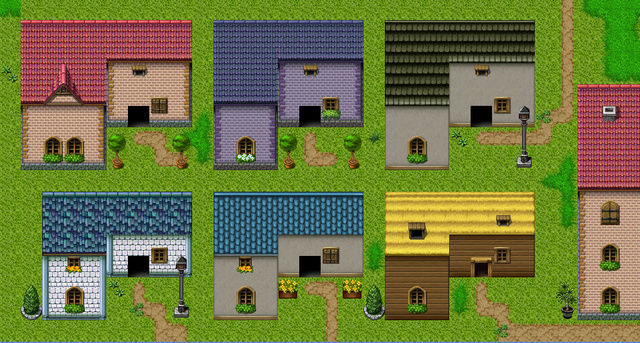 [VX Ace] Tileset de maisons/toits retouchés/ajoutés 0111