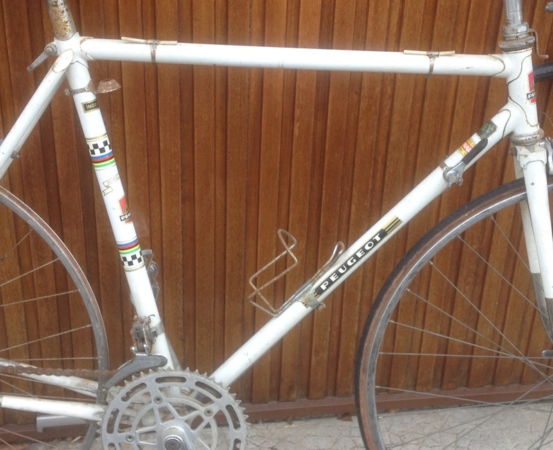 Peugeot PX10 blanc vraisemblablement de 1973 Image13