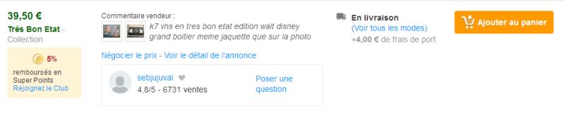 VHS : Les cassettes Disney en France ! Tylych10