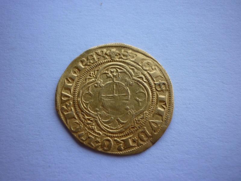 Gulden de Sigismond du Luxembourg, atelier de Francfort ... _5811