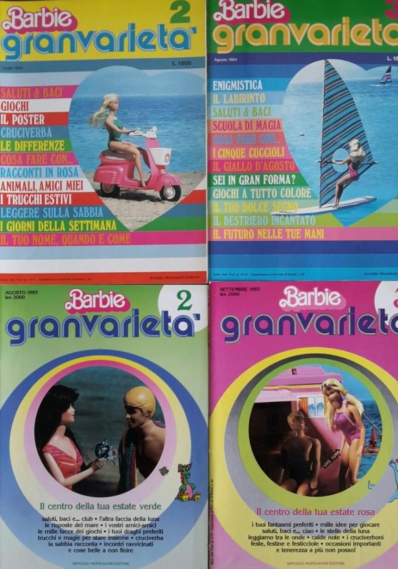 Il giornale di Barbie 82/87 e Barbie Granvarietà 84/85 Barbie10