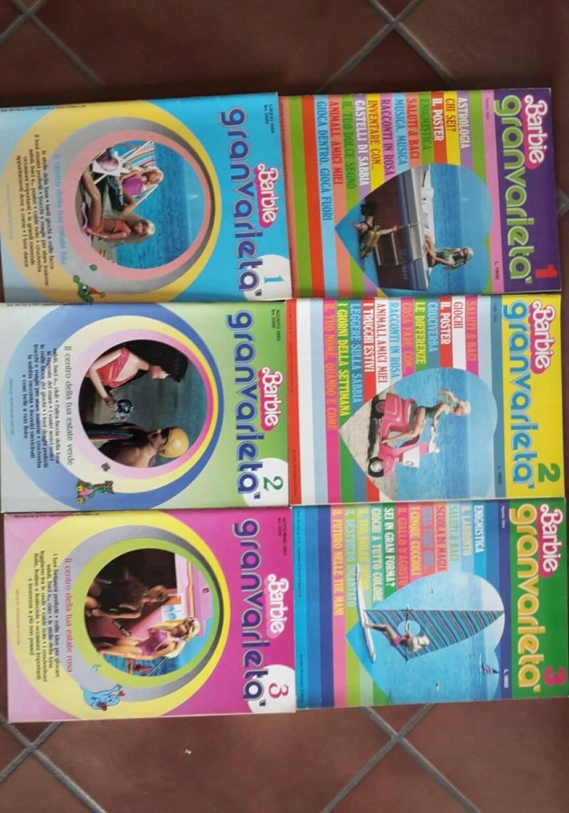 Il giornale di Barbie 82/87 e Barbie Granvarietà 84/85 Barbie11