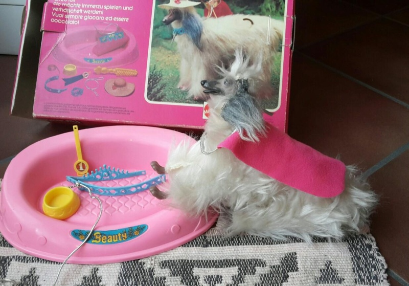 barbie camper, cucina, camera da letto, piscina, cavallo Dallas e cane Bellezza Bellez16