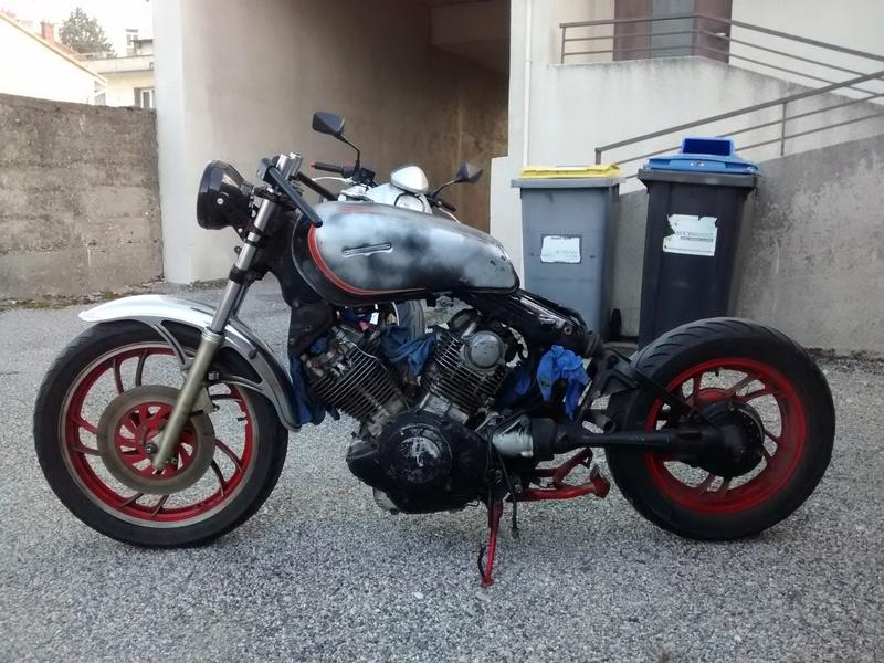 XV 750 SE >> XV 1100 Virago Cafe racer Img_2040