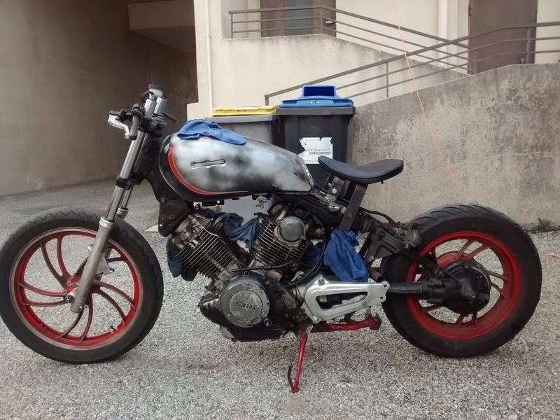 XV 750 SE >> XV 1100 Virago Cafe racer Img_2043