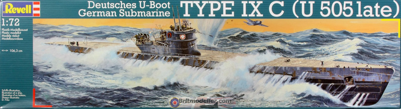 [revell] U-Boot typ VII C/41       au 1/72° Boxtop10