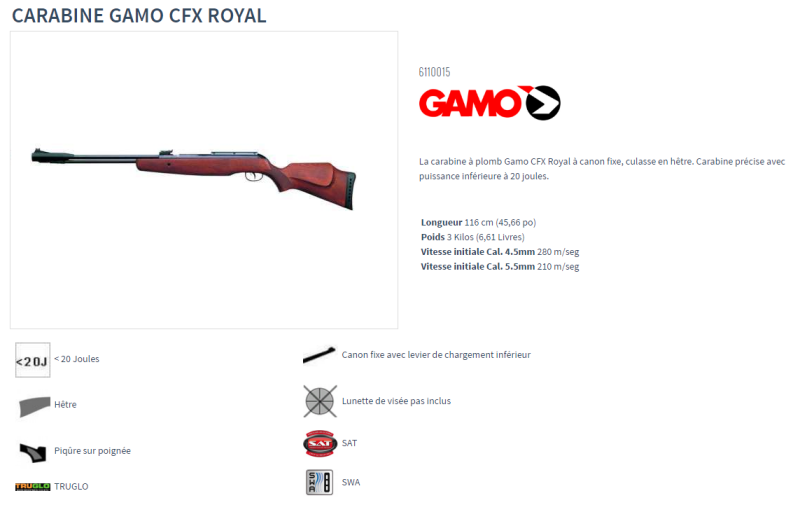 Remington ou Stoeger ? - Page 3 Gamo_c13