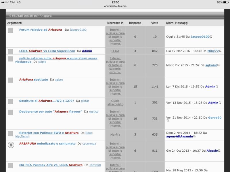 Forum relativo ad Ariapura  Image12