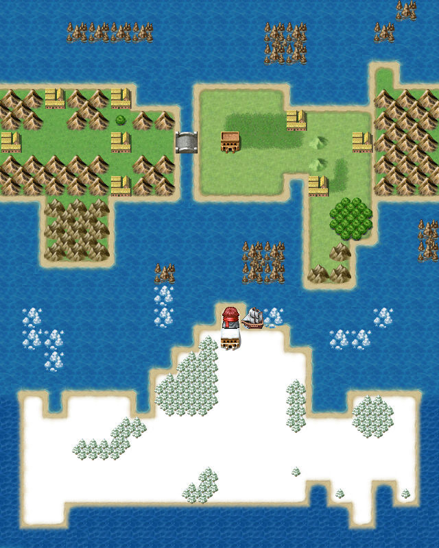Screenshot de vos projets Map00112