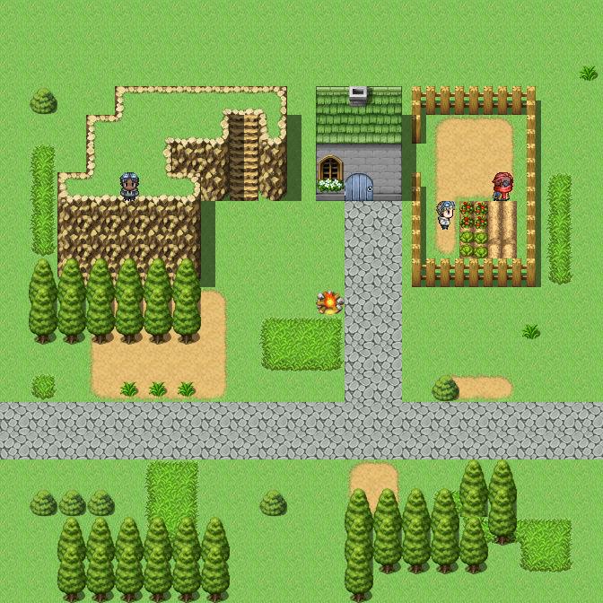 Screenshot de vos projets Map00212