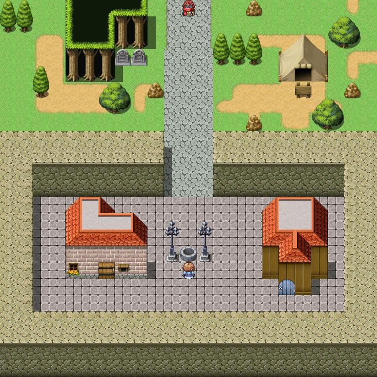 Screenshot de vos projets Map00510