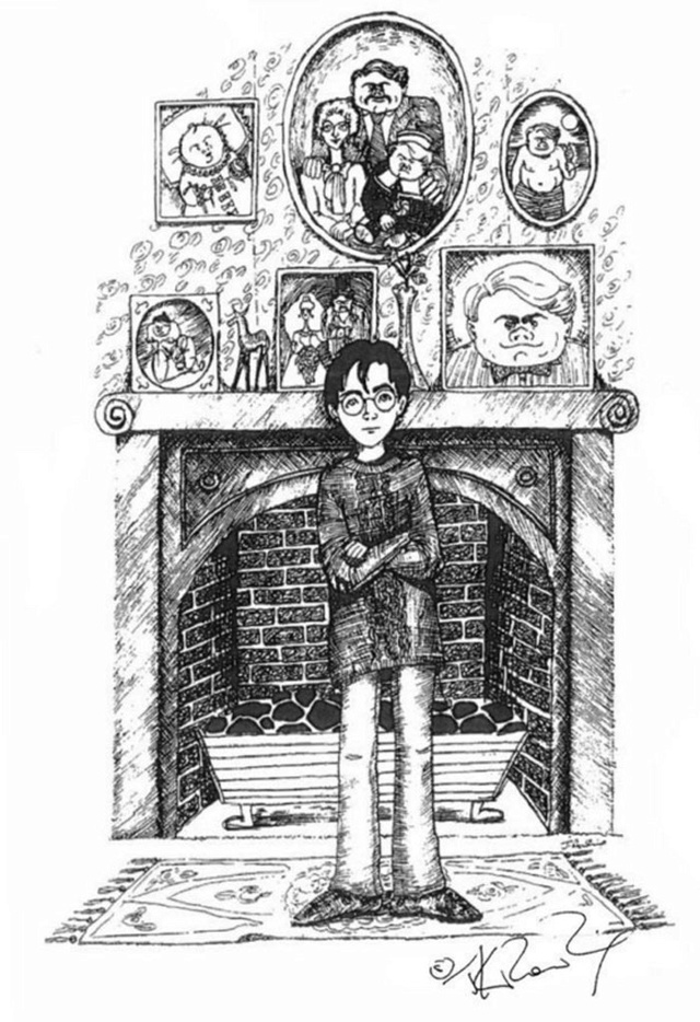 Джоан Роулинг (Joanne Rowling) - создательница Гарри Поттера (Harry Potter) - Страница 3 Potter10