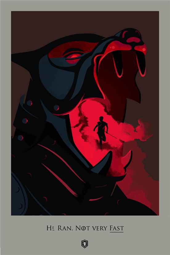 Posters promocionales de las muertes de GoT 1_210