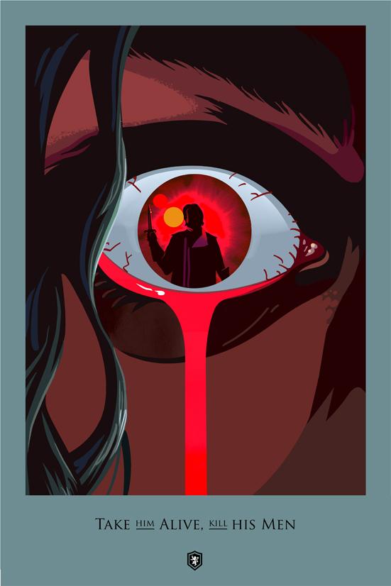 Posters promocionales de las muertes de GoT 1_510