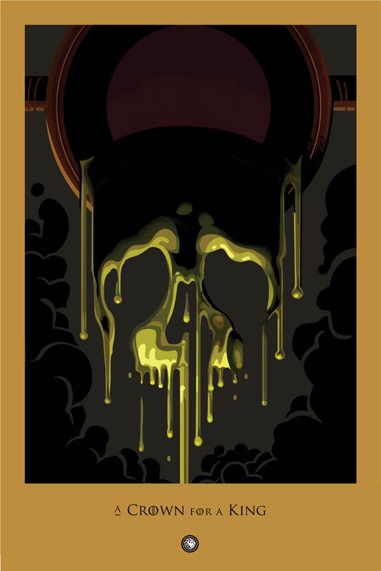 Posters promocionales de las muertes de GoT 1_610