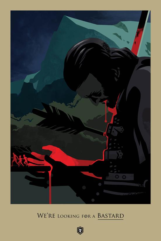Posters promocionales de las muertes de GoT 2_310