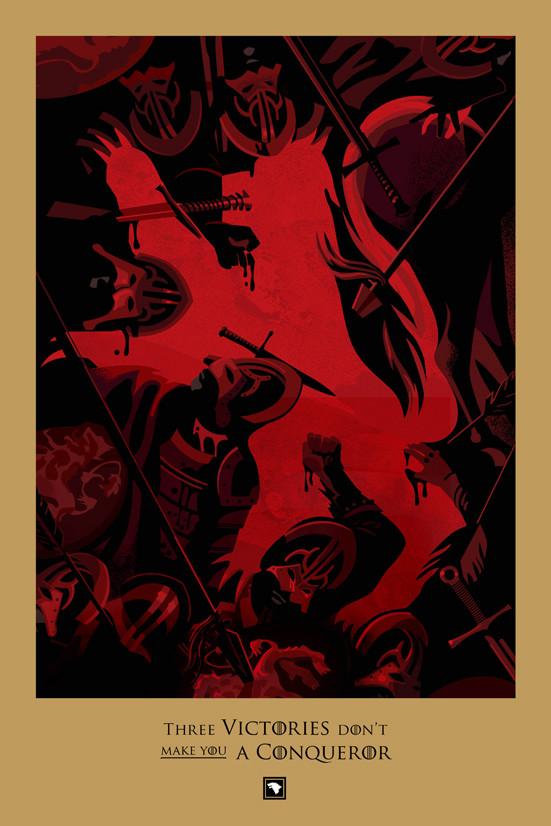 Posters promocionales de las muertes de GoT 2_410