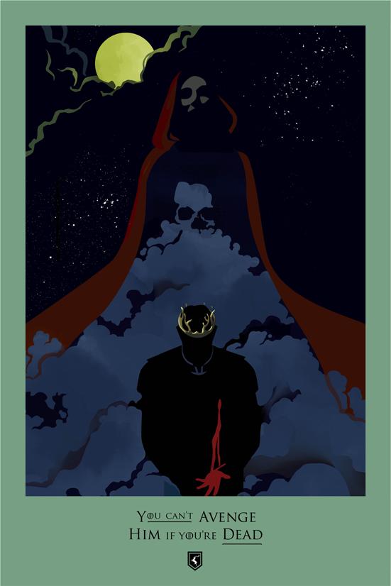 Posters promocionales de las muertes de GoT 2_510