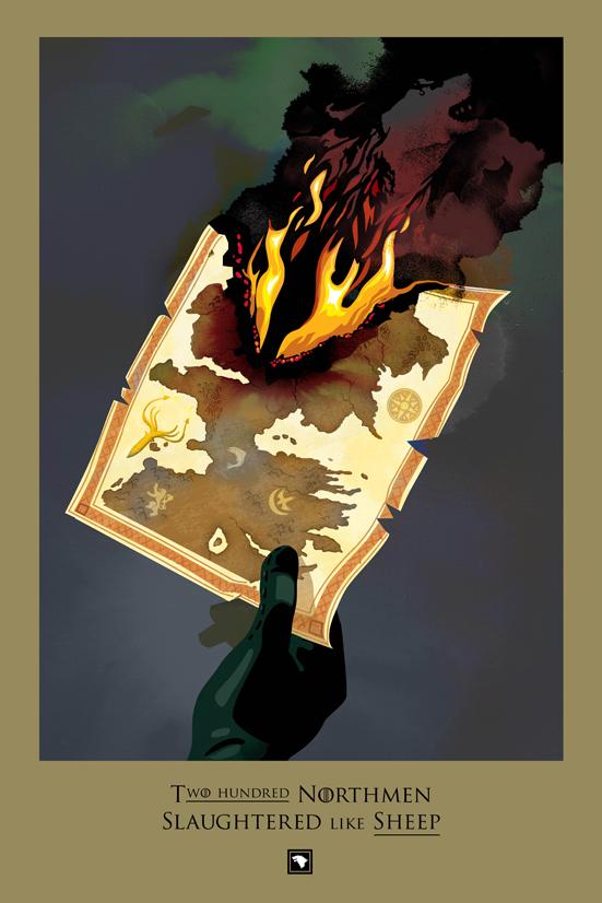 Posters promocionales de las muertes de GoT 3_110