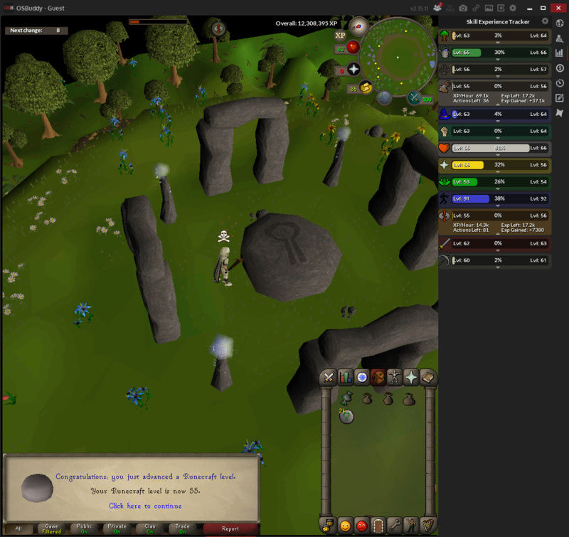 Nuck's Road to Max Runecr10