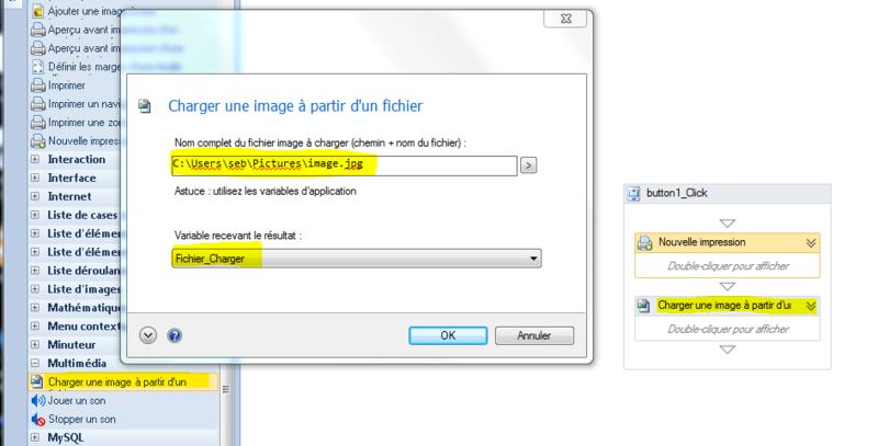 [résolu]Recherche tuto pour creer un logiciel pour imprimer Captur23