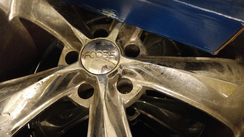 "Foose 22"" Chrome Legends w/Tires Image13"