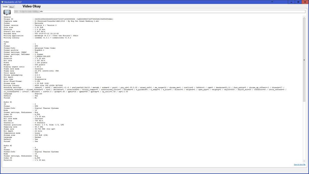 V-MPEG4 video rendering broken Codeci12