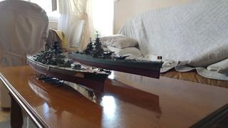 Mes maquettes le cuirasse richelieu et le cuirasse. Bismarck  au 1/400 heller 20160630