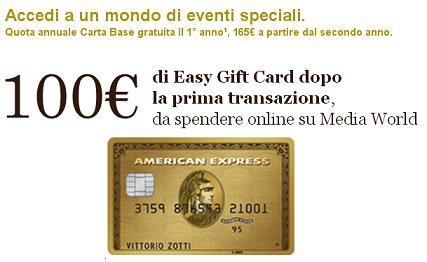 CARTA ORO AMERICAN EXPRESS regala BUONO MEDIAWORLD € 100 [promozione prorogata fino al 31/12/2019] Immagi11