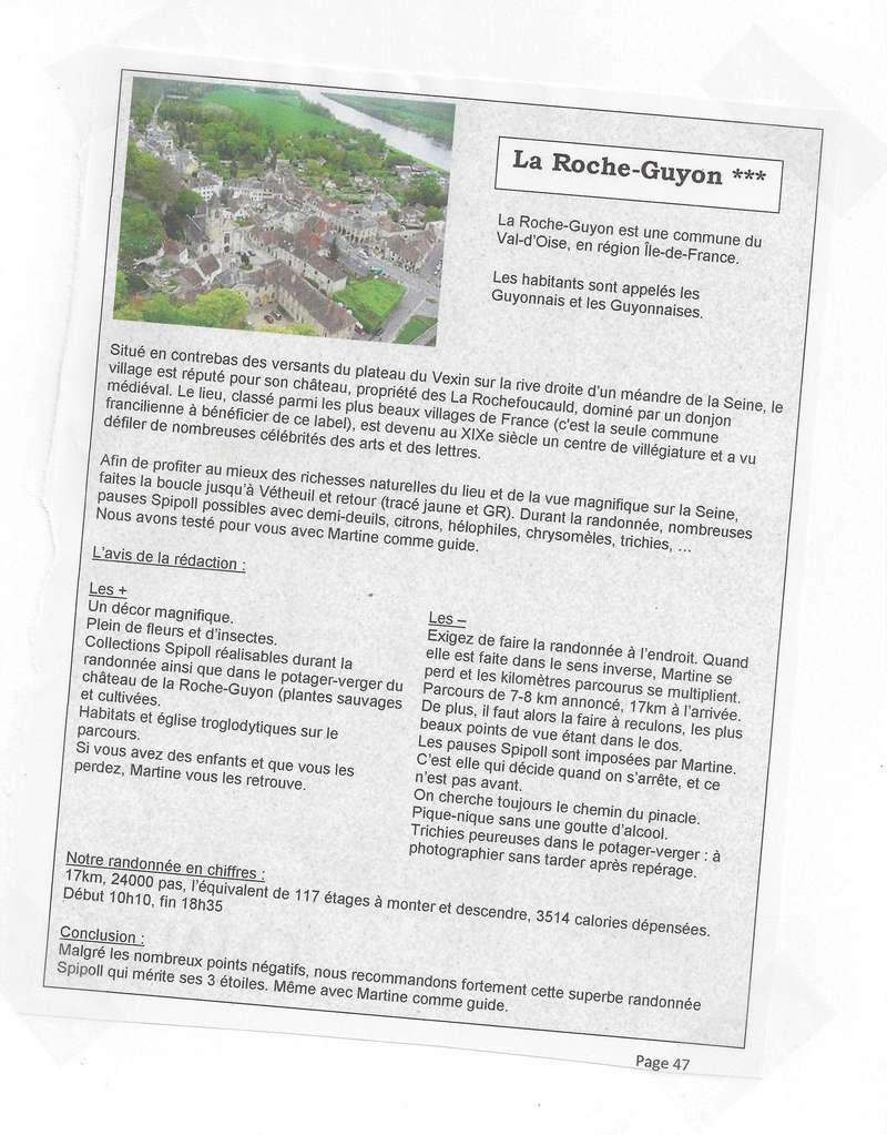 Suite du compte rendu du week-end Relais Spipoll Guides10