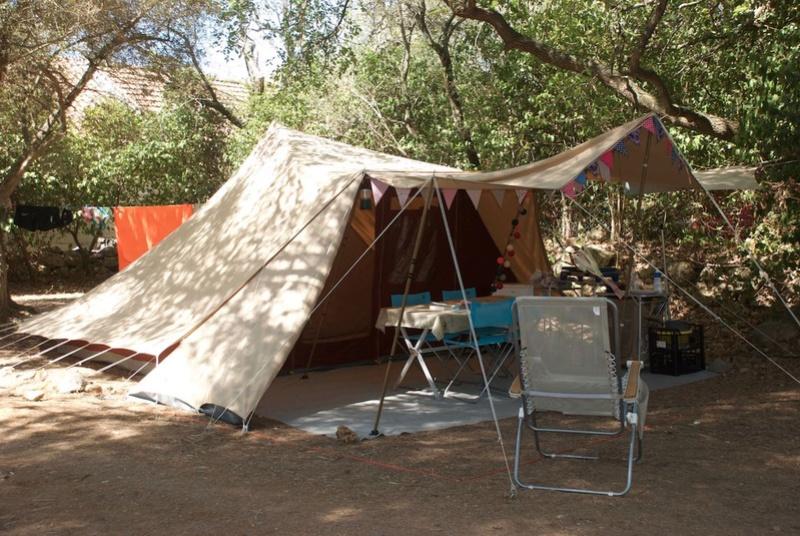 La marque de tente De Waard Dewaar10