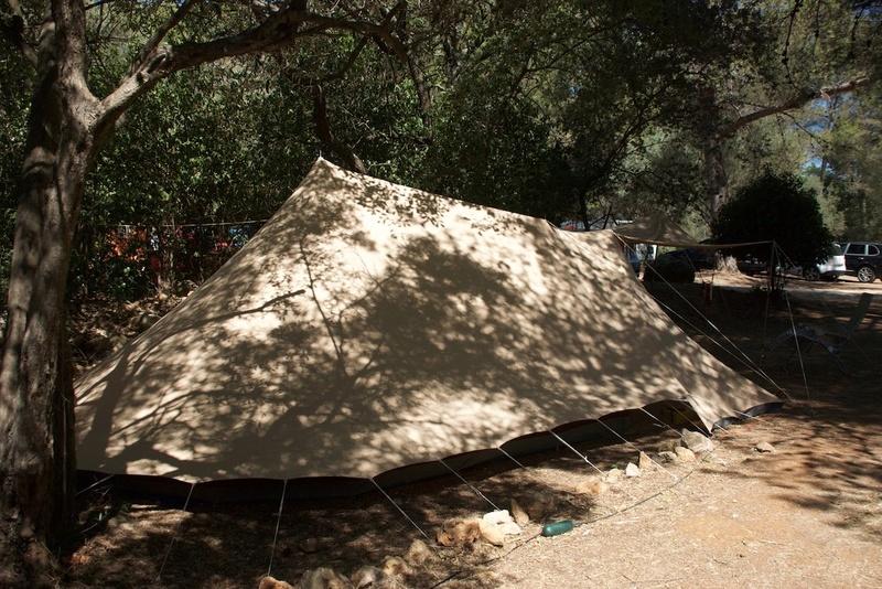 La marque de tente De Waard Dewaar12