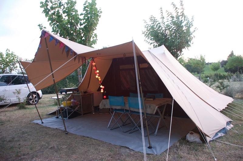 La marque de tente De Waard Dewaar17