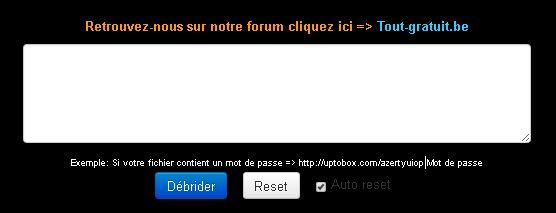 Télécharger rapidement sur des hébergeurs de fichiers Captur11