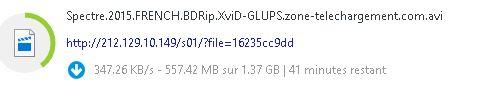 Télécharger rapidement sur des hébergeurs de fichiers Captur15