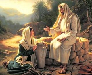 ИИСУС И САМАРЯНКА! стихи ХВЕ о Духе Святом Jesus-12