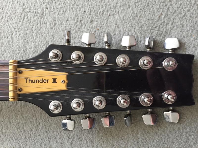 thunder - Thunder 3 12 string Img_2520