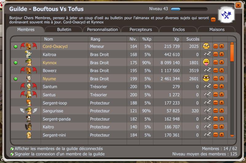 La guerre fait rage entre Bouftous Vs Tofus Guilde10